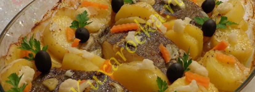 Рецепт трески запеченной в духовке по-португальски