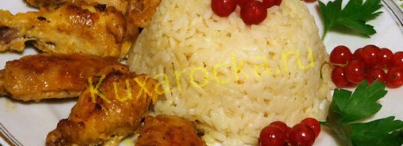 Крылышки в духовке рецепт в сметанном соусе