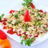 Салат с запеченным перцем рецепт с фото