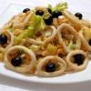 Салат с кольцами кальмара рецепт