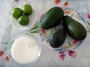 Десерт из авокадо
