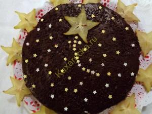 Торт Рождественская звезда