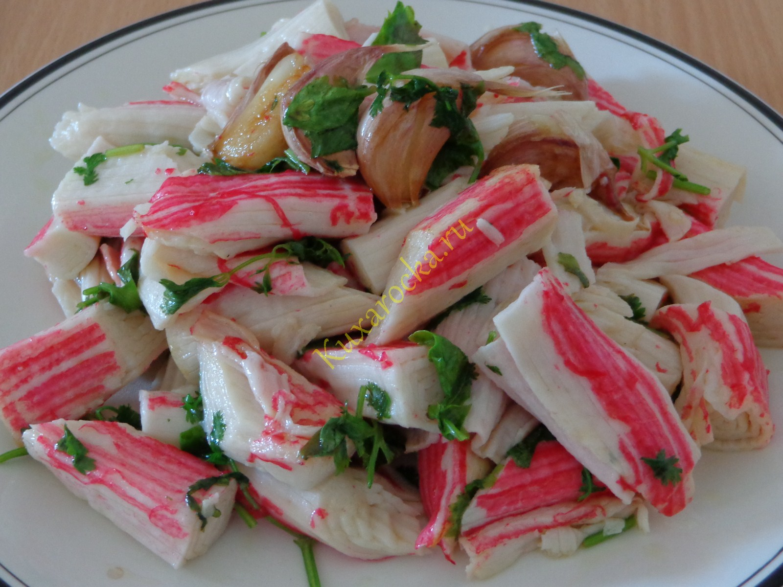Крабовые палочки рецепты пошагово