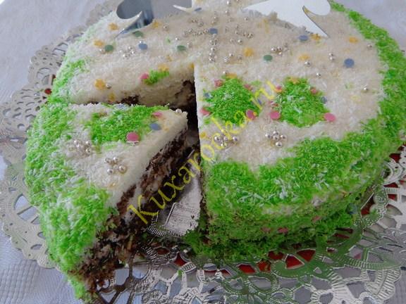 Торт морозко фото