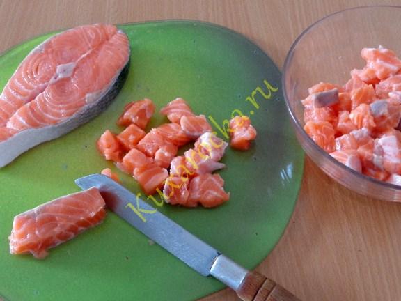 маринованный лосось