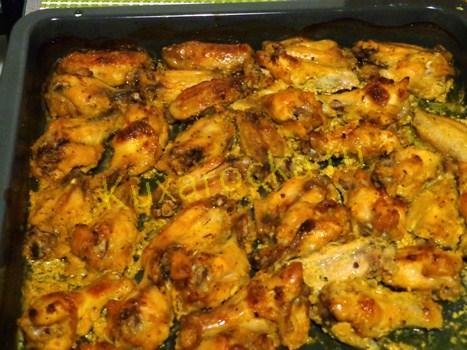 куриные крылышки в соусе в духовке рецепт