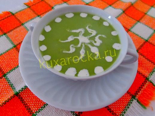 Крем суп со сливками